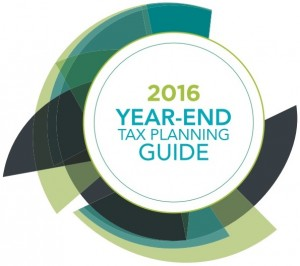 2016 Year-End Tax Planning Guide